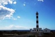 Calan Bosch lighthouse